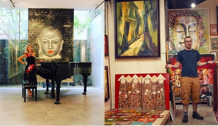 Art Vietnam Salon Gallery - không gian nghệ thuật ở Hà Nội đẹp không góc chết