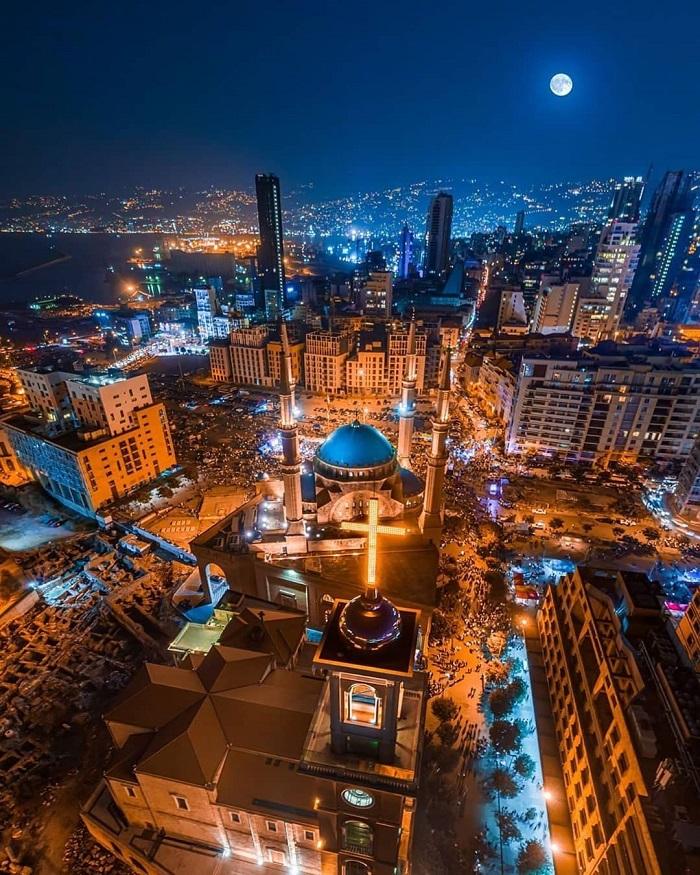 Thành phố Beirut - Kinh nghiệm du lịch Trung Đông