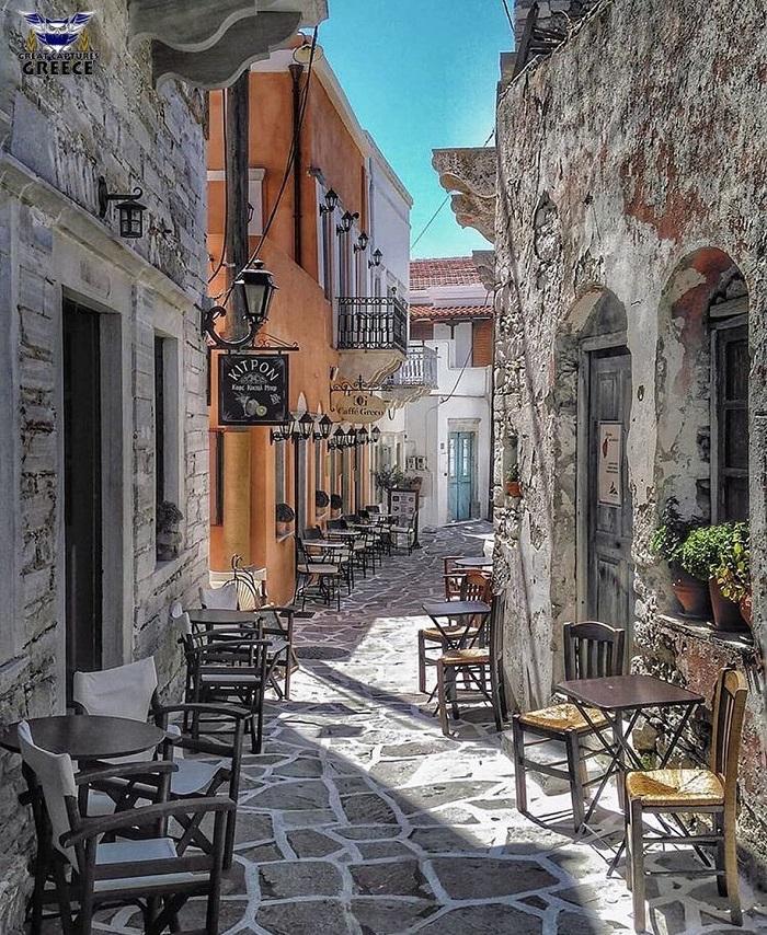Làng Chalkiac -  Du lịch đảo Naxos Hy Lạp