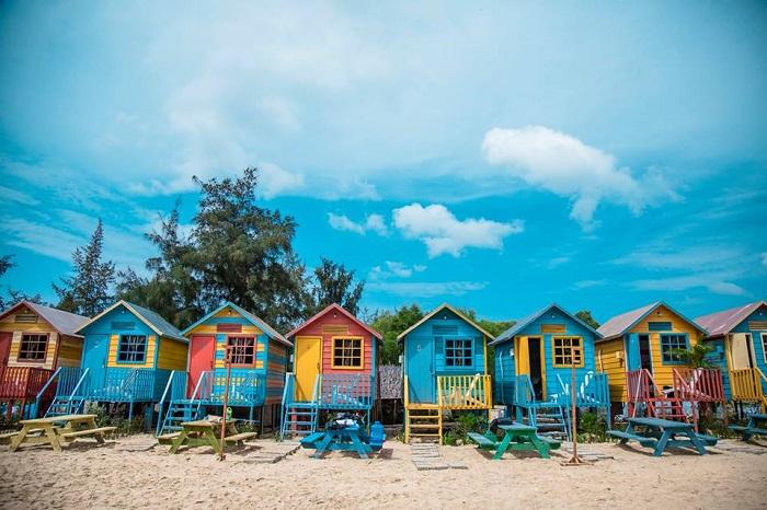 Coco beach Camp - homestay đẹp ở Mũi Né view biển