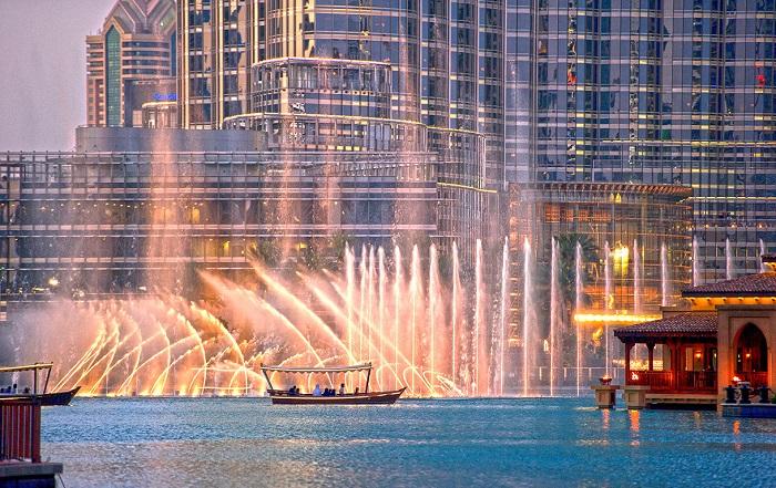 Đài phun nước Dubai được công nhận là đài phun nước lớn nhất thế giới