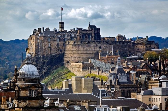 Edinburgh Vương Quốc Anh - Thị trấn thời trung cổ ở Châu Âu