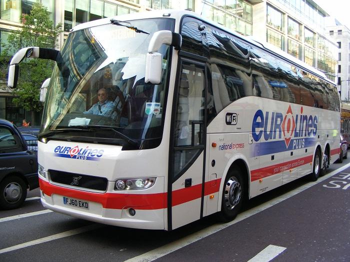 Xe bus Eurolines - Kinh nghiệm du lịch Latvia