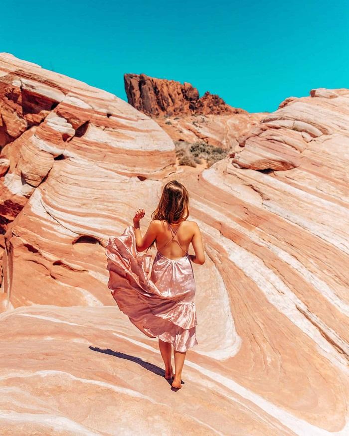 Sóng lửa - Thung lũng Lửa Nevada