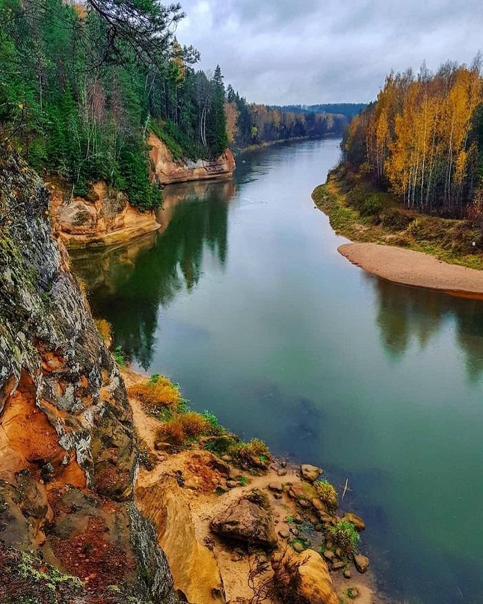Vườn quốc gia Gauja - Kinh nghiệm du lịch Latvia