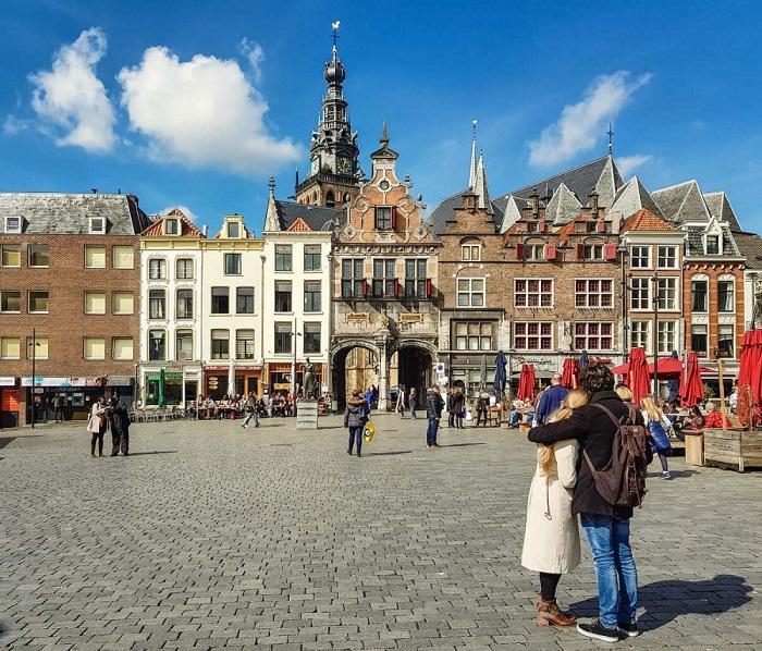 Quảng trường Grote Markt - Du lịch Nijmegen
