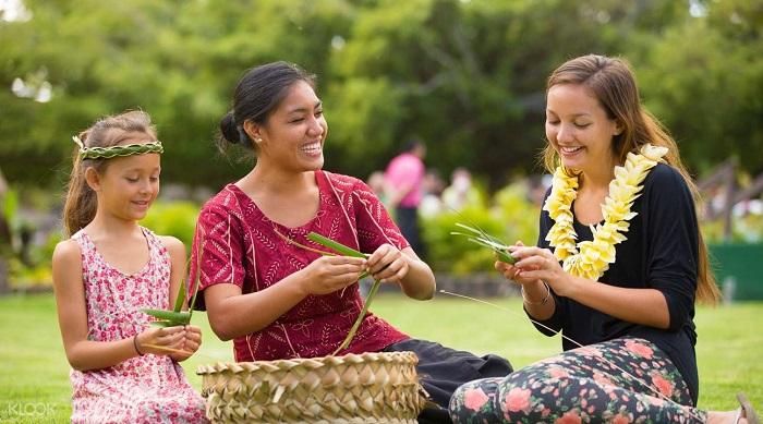 Văn hóa Polynesia - Hoa mang ý nghĩa quan trọng trong văn hóa Tihitian