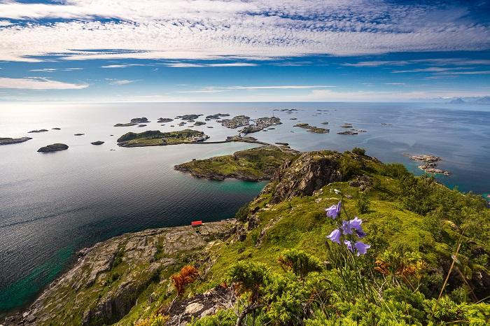 Thời tiết ở Lofoten ấm hơn một số nơi cùng vĩ độ - Quần đảo Lofoten