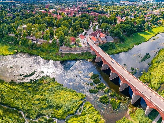 Thành phốKuldiga - Kinh nghiệm du lịch Latvia