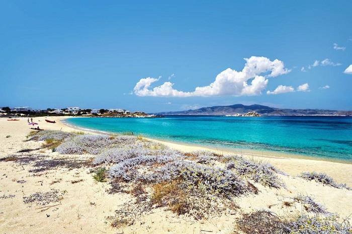 Bãi biển Mikri Vigla -  Du lịch đảo Naxos Hy Lạp