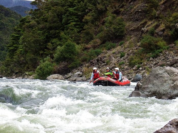 Đi bè trên  sông Mohaka - Du lịch Napier