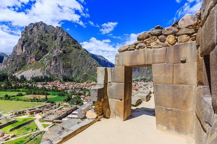 Pháo đài Ollantaytambo - Thung lũng thiêng Peru