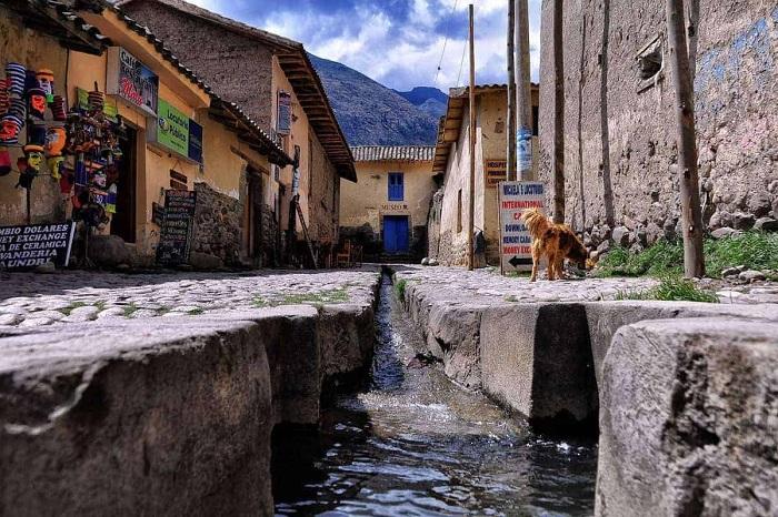 Thị trấn Ollantaytambo  - Thung lũng thiêng Peru