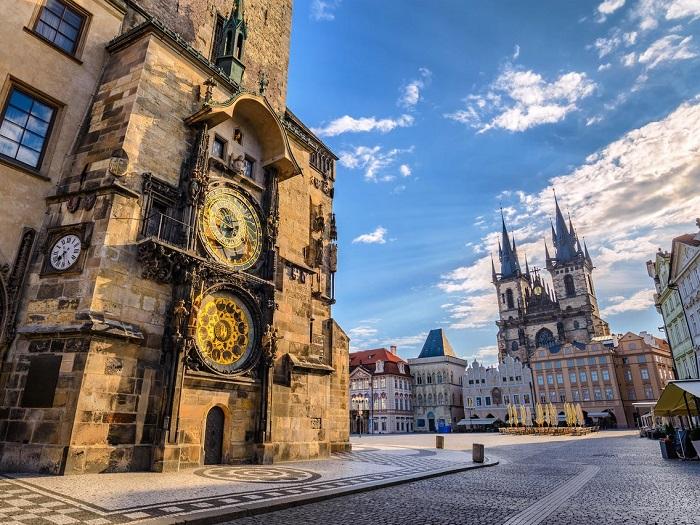 Praha - Cộng hòa Séc - Thị trấn thời trung cổ ở Châu Âu