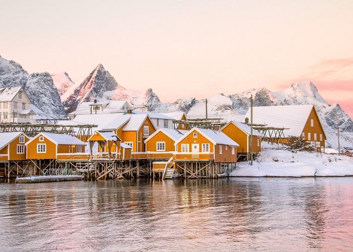 Làng Reine - Quần đảo Lofoten