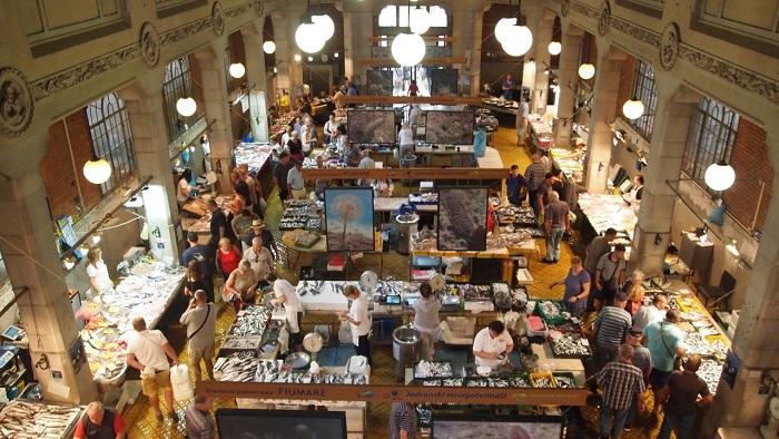 Chợ cá - Điểm đến ở Rijeka