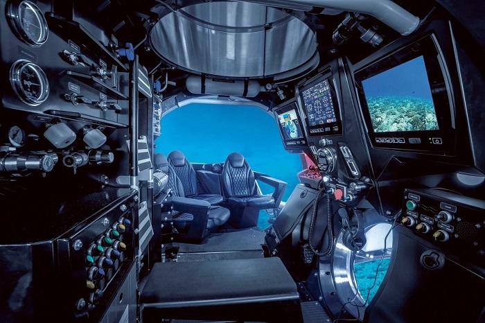 Scenic có một tàu ngầm riêng - Du thuyền sang trọng nhất thế giới