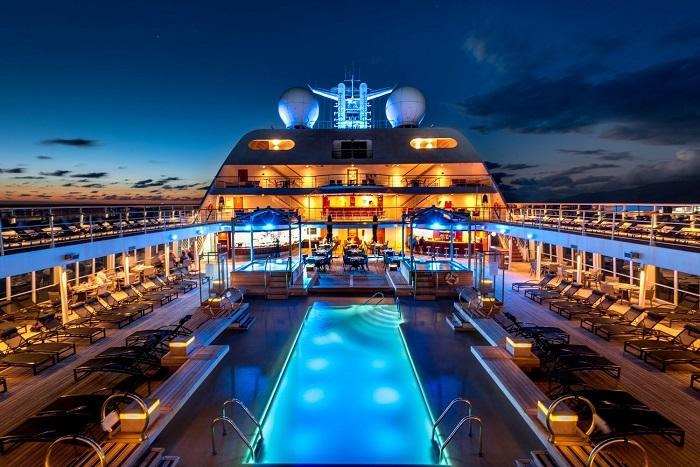 Du thuyền Seabourn - Du thuyền sang trọng nhất thế giới