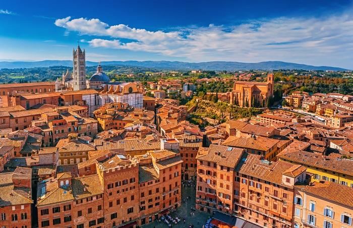 Thành phố Siena - Thị trấn thời trung cổ ở Châu Âu
