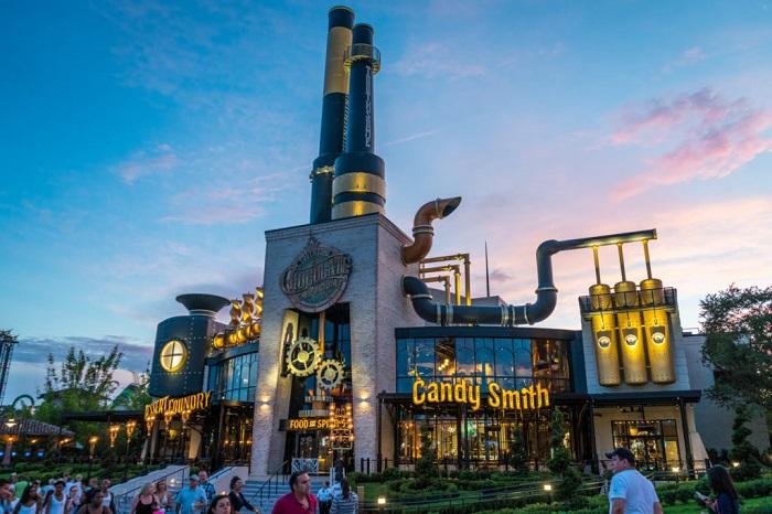 Vương quốc sô cô la - Kinh nghiệm du lịch Orlando