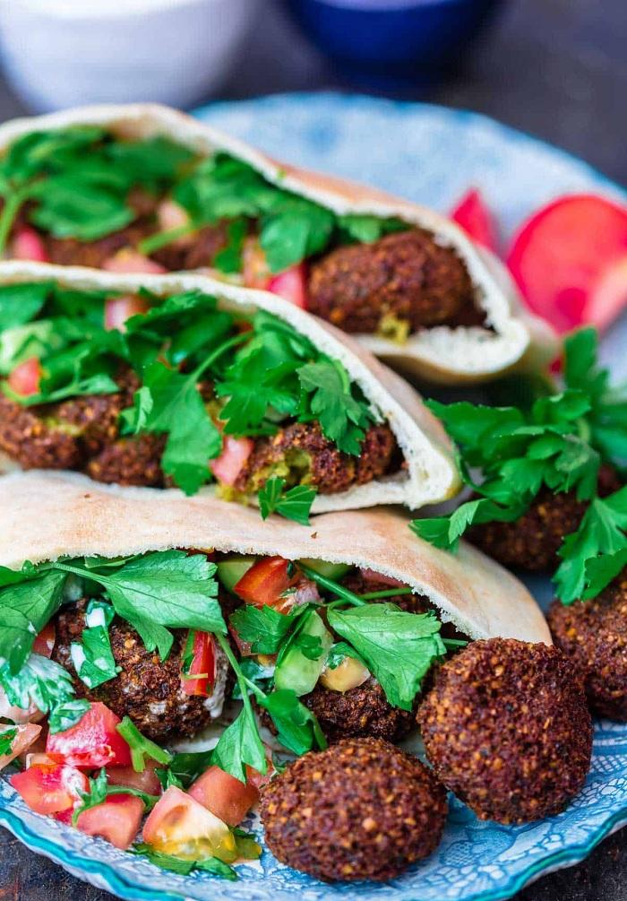 Món falafel - Kinh nghiệm du lịch Trung Đông