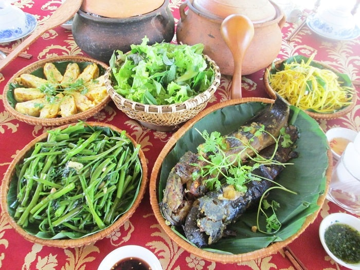 What to eat when coming to Nhan Tam eco-zone?
