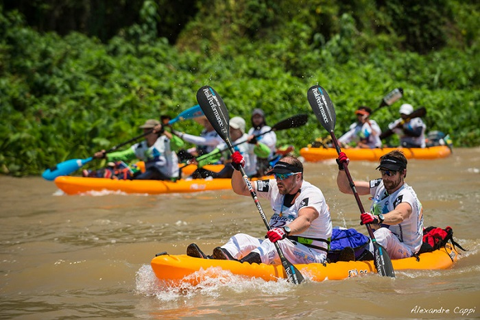 Chèo thuyền kayak - Du lịch Pantanal