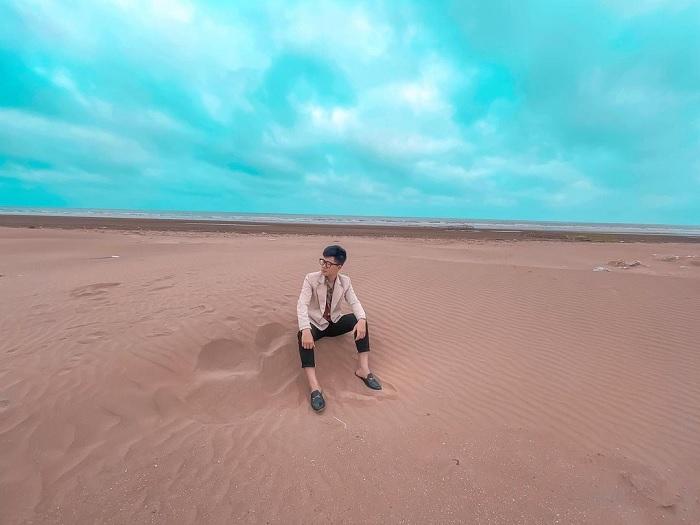 biển Nghĩa Hưng - bãi biển đẹp ở Nam Định