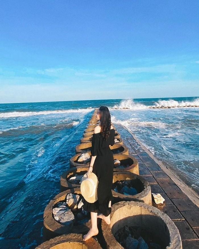 biển Thịnh Long - bãi biển đẹp ở Nam Định