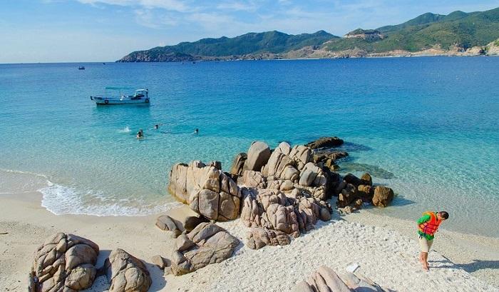 Ca Na Beach - one of the beautiful beaches in Ninh Thuan