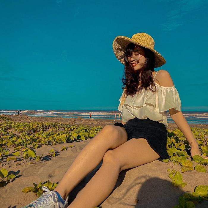biển Rạng Đông - bãi biển đẹp ở Nam Định