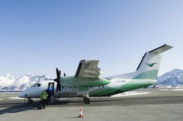 Máy bay nhỏ đến Lofoten - Quần đảo Lofoten
