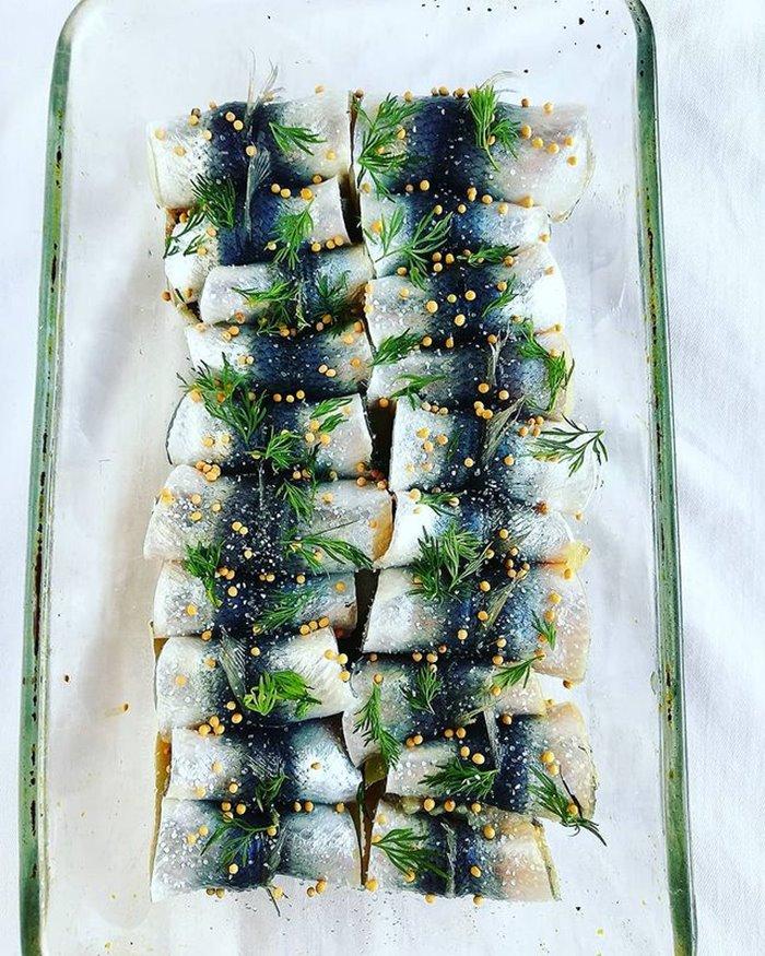 cá trích Baltic món ăn mùa thu trên thế giới
