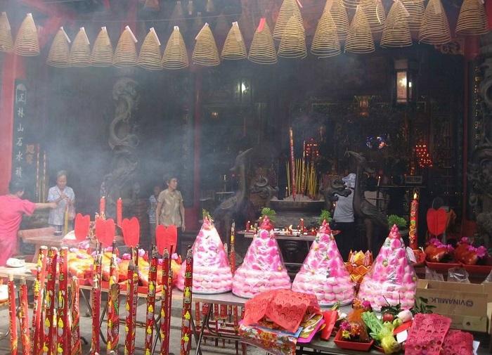 Các lễ hội ở Cần Thơ  - Lễ vía Bà Thiên Hậu