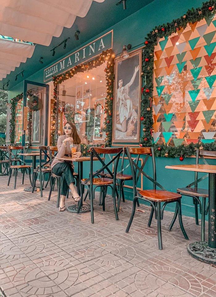 Marina Coffee quán cafe view đẹp ở Quy Nhơn