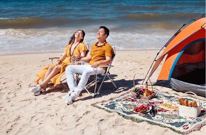 Cắm trại ở Bãi Rạng Đà Nẵng