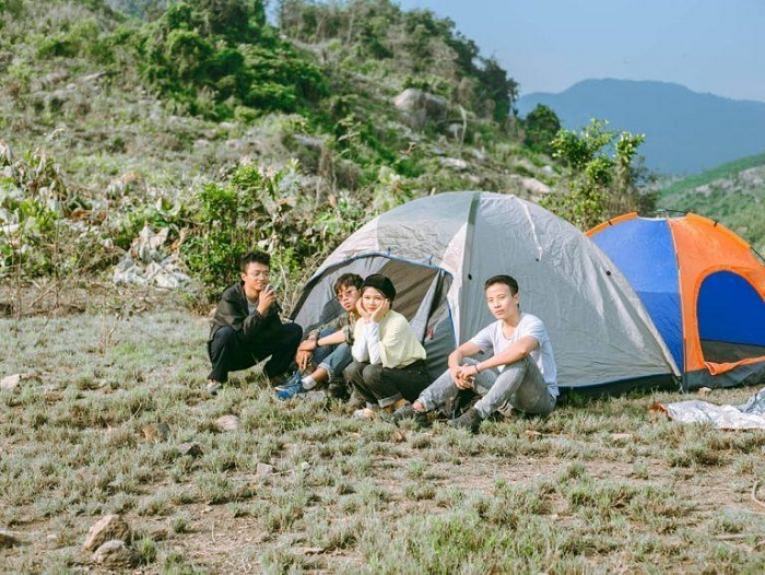 Camping in Dong Xanh - Dong Nghe Da Nang