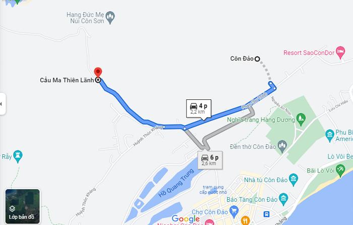Ma Thien Lanh Con Dao bridge - move