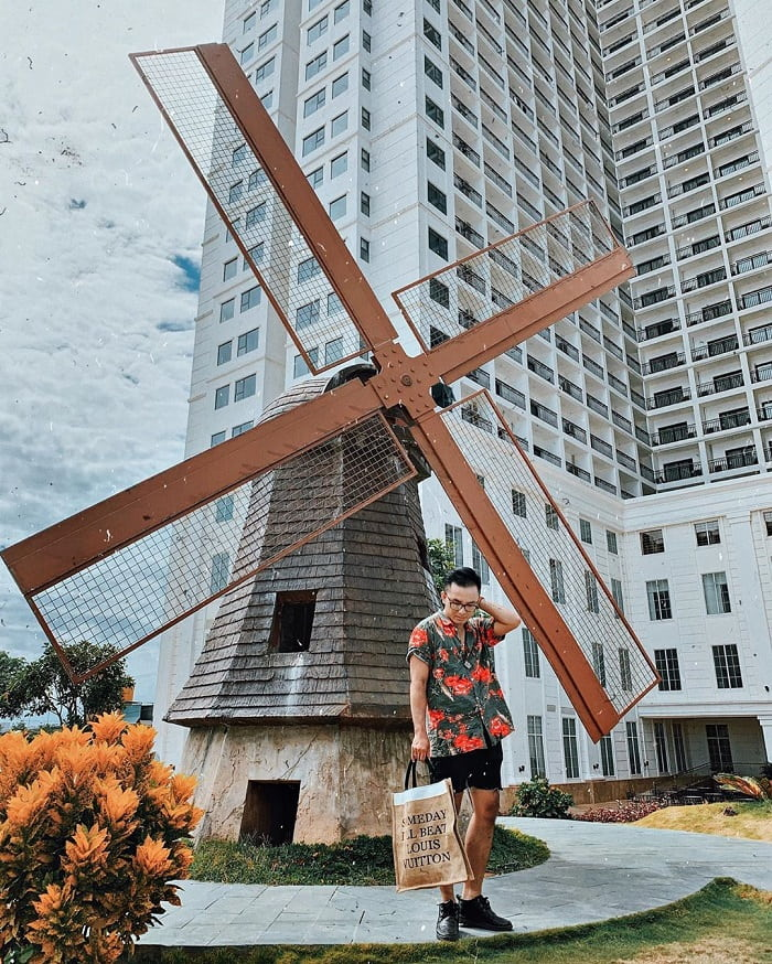 Windmills in Danang Wonders of the World Park