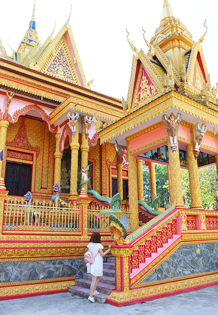 Check in chùa Pisesaram - tọa lạc tại xã Bình Phú