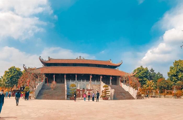 chùa Hà Tiên - ngôi chùa ở Vĩnh Phúc cổ kính