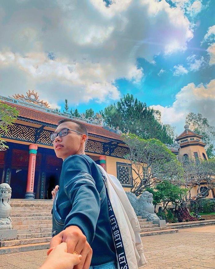 Chùa Linh Quang ngôi chùa ở Đà Lạt