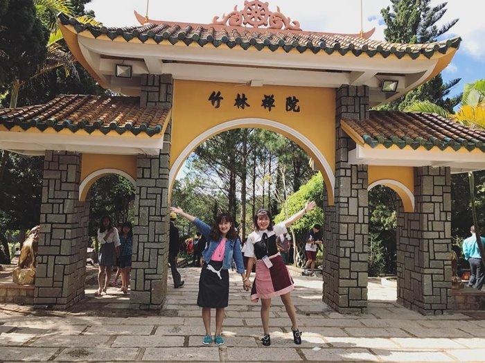 Chùa Linh Quang ngôi chùa ở Đà Lạt đẹp