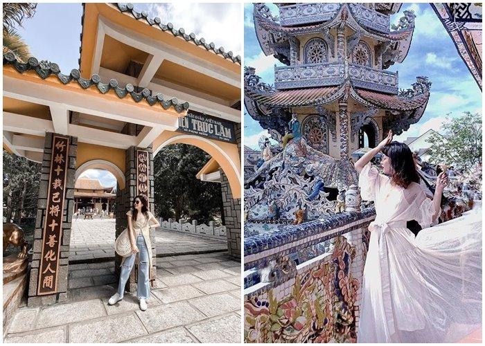 Những ngôi chùa ở Đà Lạt kiến trúc độc đáo view đẹp miễn chê