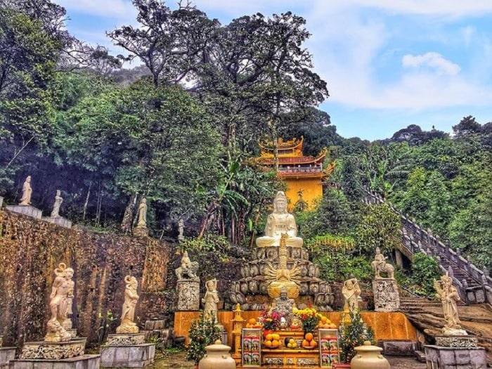 chùa Vàng - ngôi chùa ở Vĩnh Phúc đẹp