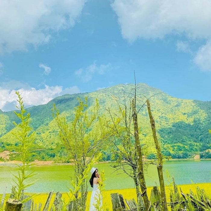 Vẻ đẹp ở hồ Séo Mý Tỷ Sapa