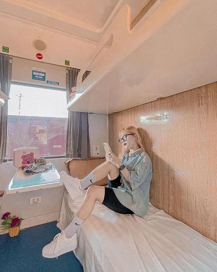 Có nên đi du lịch bằng tàu hỏa hay không? - có, vì không gian thoải mái