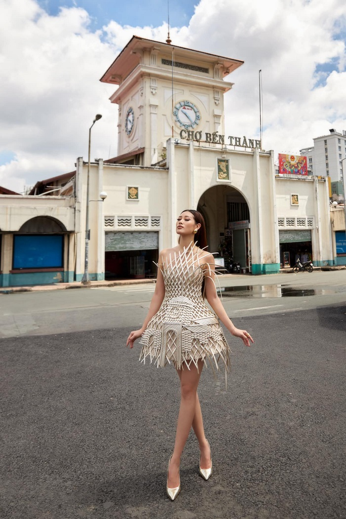Famous architectural works in Saigon - Ben Thanh market