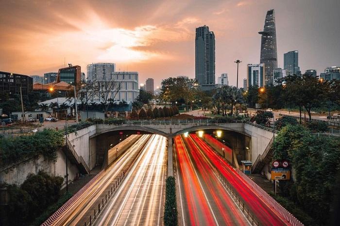 Famous architectural works in Saigon - Thu Thiem Tunnel