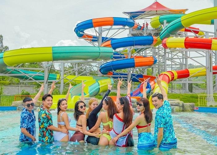 Water park in Saigon - Cu Chi water park has fun